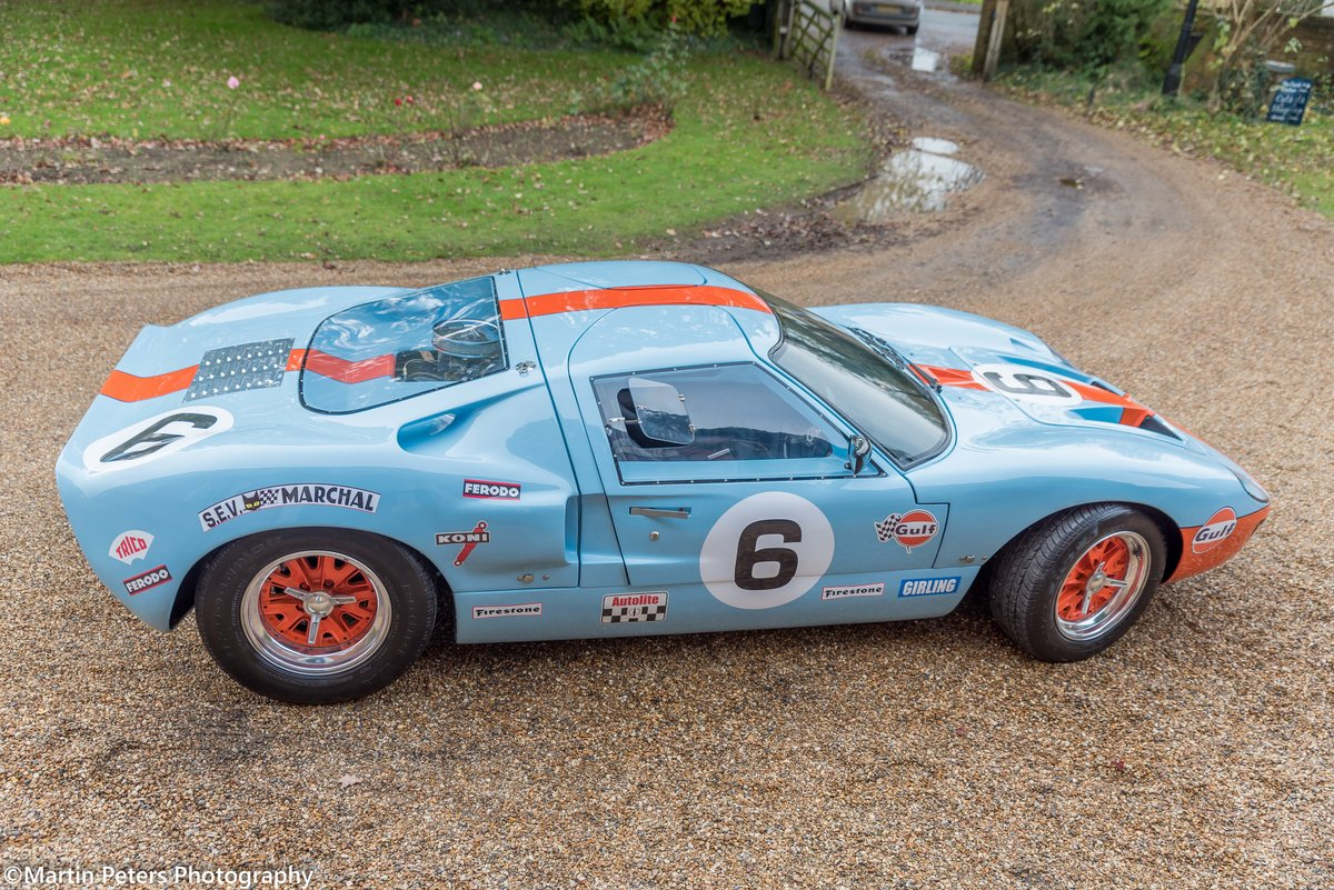 1992 GT40 MK1 Gulf replica by KVA For Sale (picture 2 of 24)