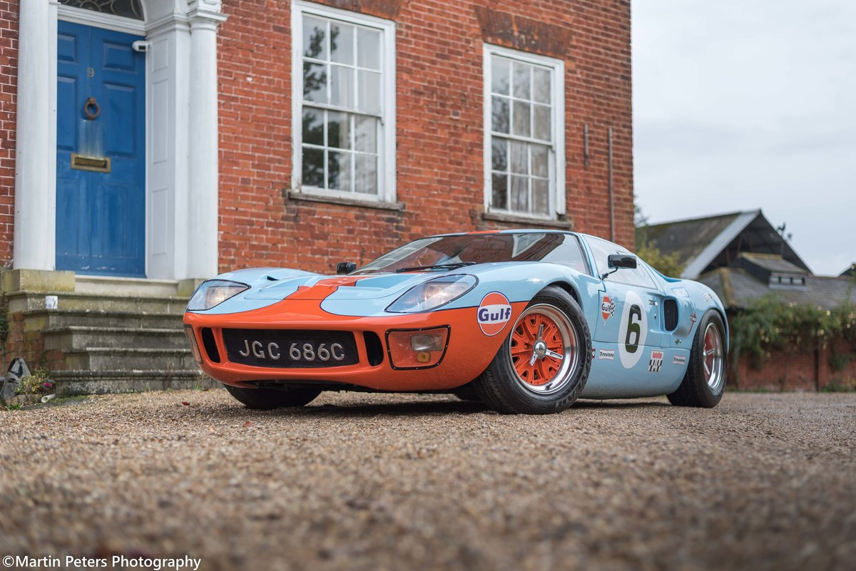 1992 GT40 MK1 Gulf replica by KVA For Sale (picture 3 of 24)