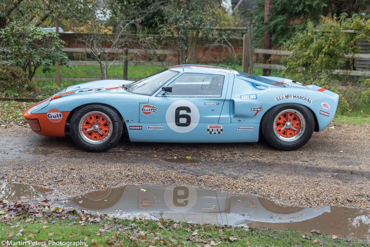 1992 GT40 MK1 Gulf replica by KVA For Sale (picture 4 of 24)