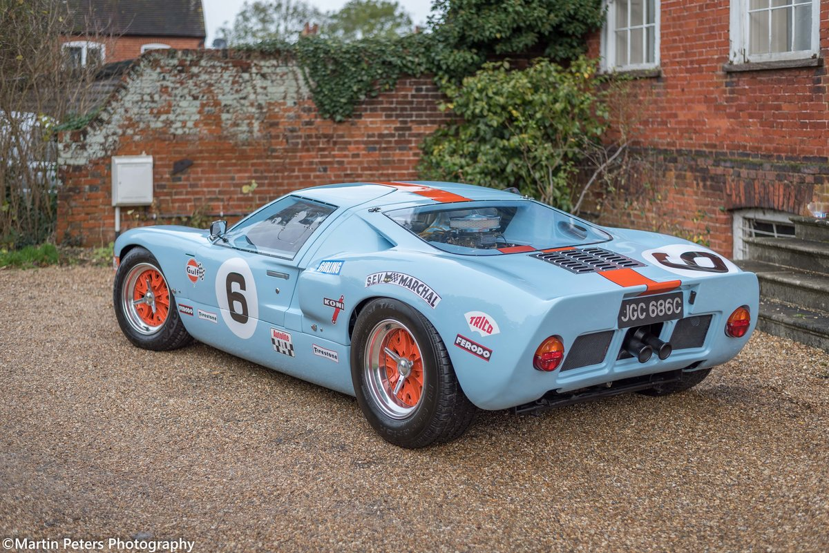 1992 GT40 MK1 Gulf replica by KVA For Sale (picture 5 of 24)