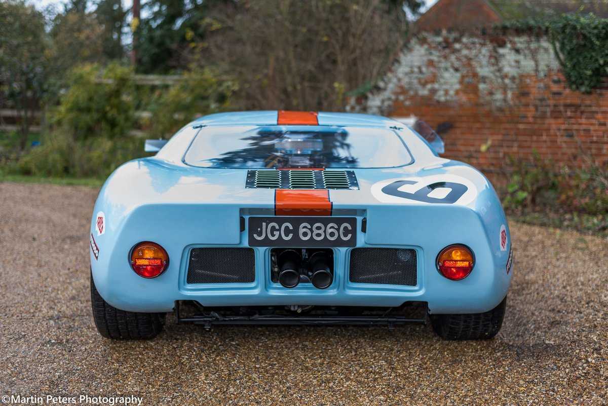 1992 GT40 MK1 Gulf replica by KVA For Sale (picture 6 of 24)