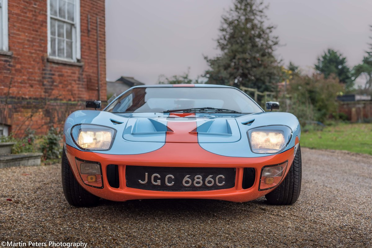 1992 GT40 MK1 Gulf replica by KVA For Sale (picture 7 of 24)