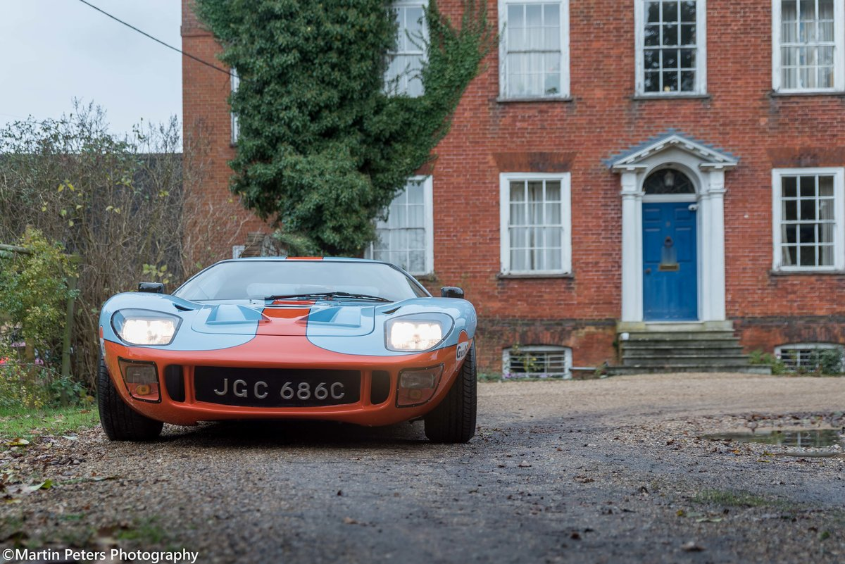 1992 GT40 MK1 Gulf replica by KVA For Sale (picture 11 of 24)