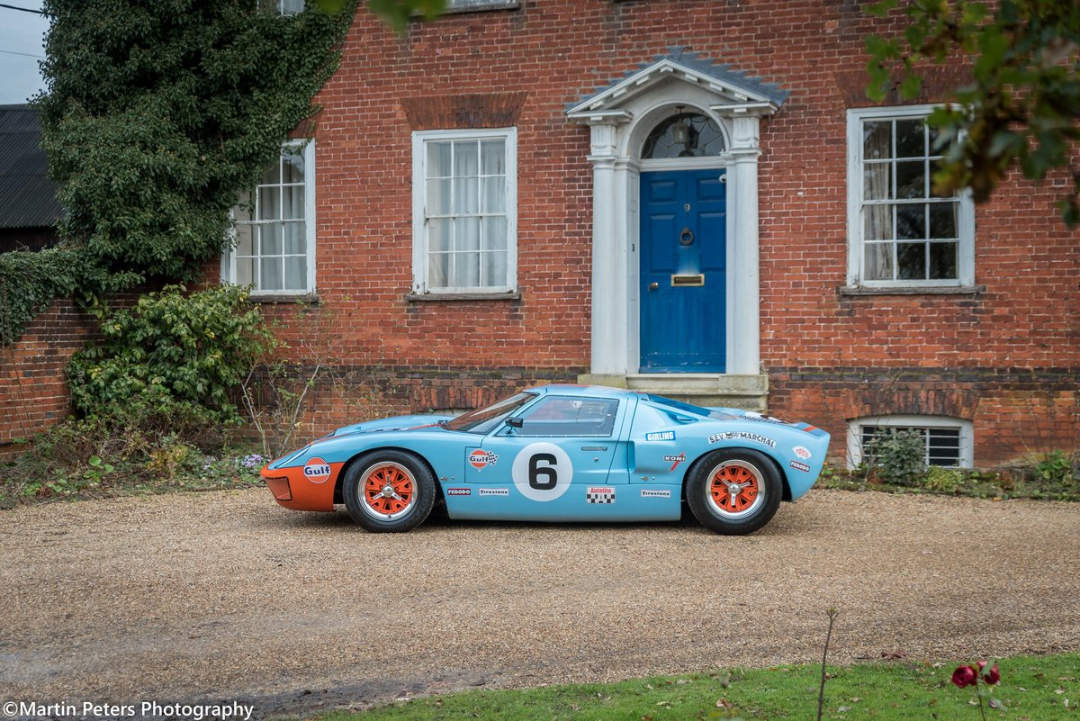 1992 GT40 MK1 Gulf replica by KVA For Sale (picture 12 of 24)