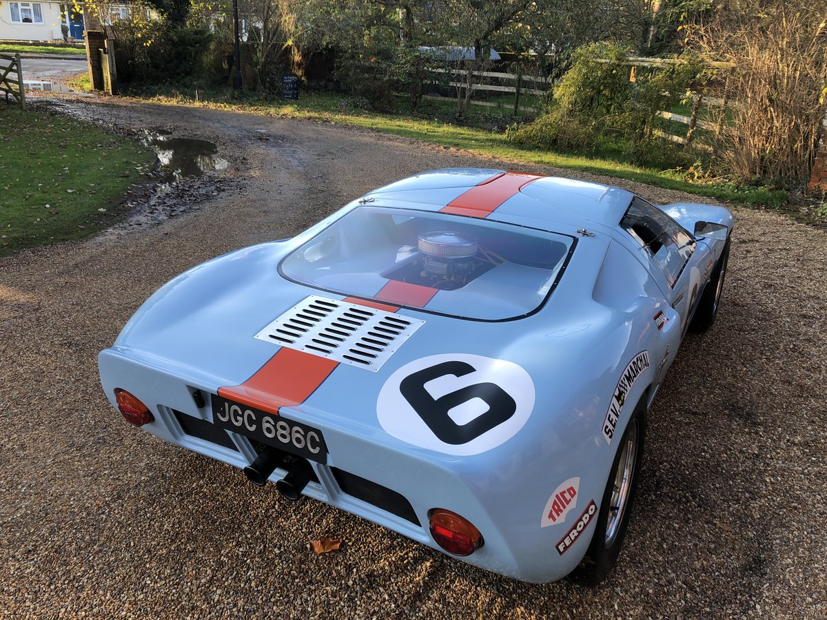 1992 GT40 MK1 Gulf replica by KVA For Sale (picture 18 of 24)