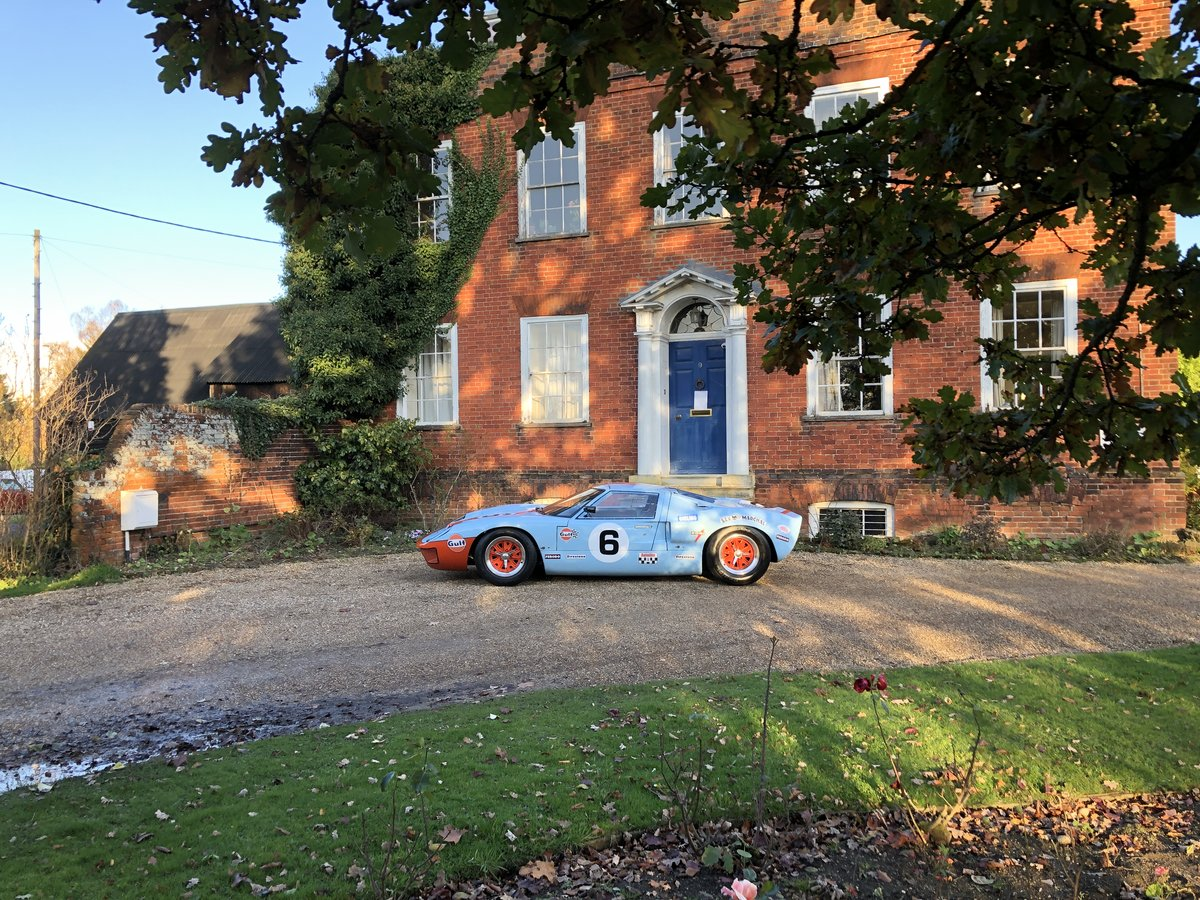 1992 GT40 MK1 Gulf replica by KVA For Sale (picture 21 of 24)
