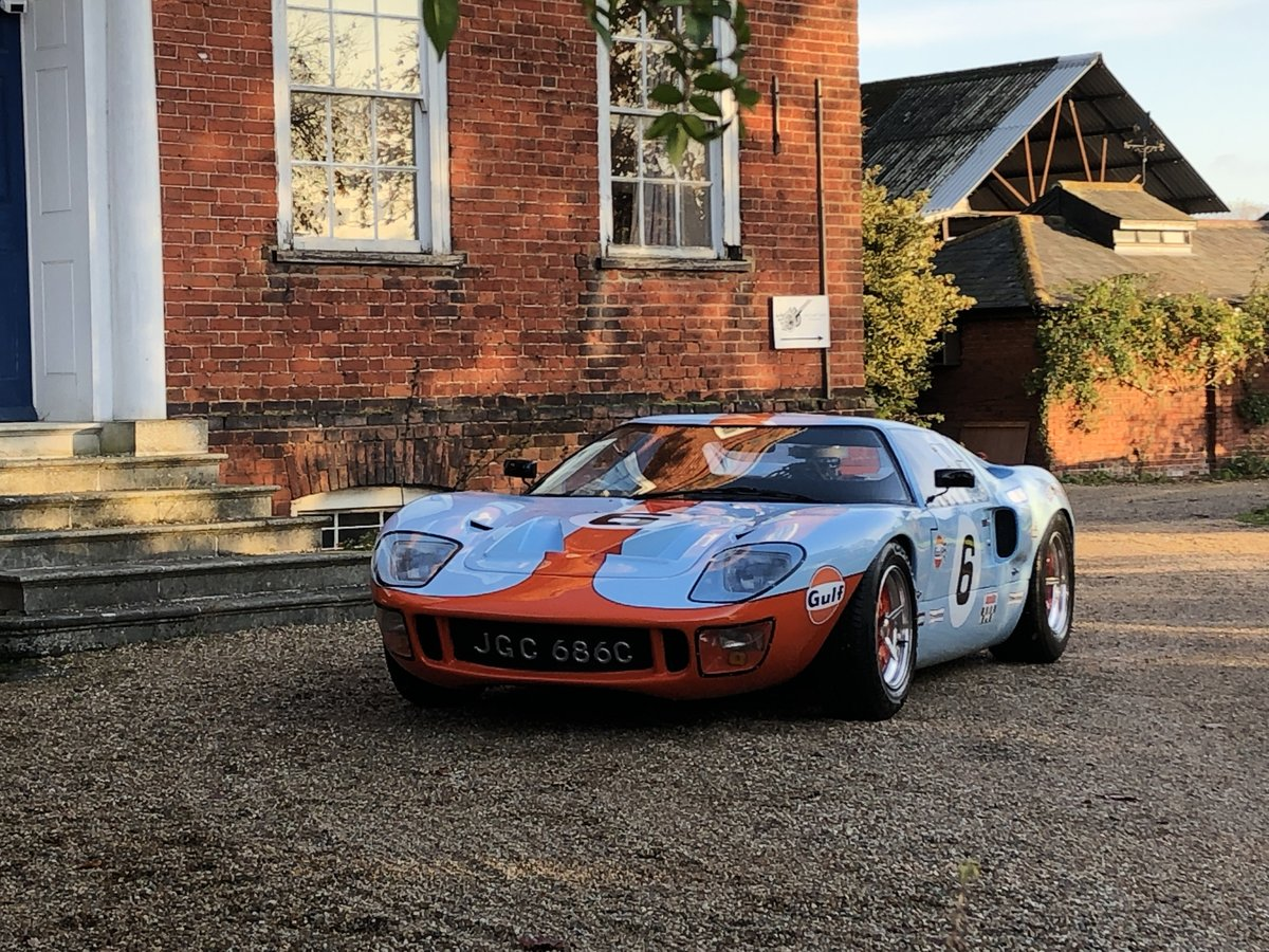 1992 GT40 MK1 Gulf replica by KVA For Sale (picture 24 of 24)