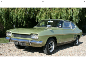 1969 Ford Capri 1600XL MK1 For Sale