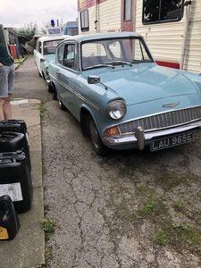 1967 Ford Anglia Mini project
