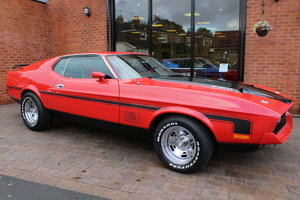 1971 Ford Mustang Mach 1 351 V8 Auto | Red With Black Decals For Sale