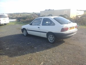 1997 Escort  3 door non sunroof, 1.3, 38000 mile only For Sale
