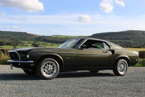 1969 Ford Mustang Fastback 3-Speed Manual | Black Jade For Sale