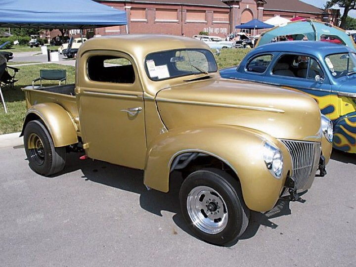 1940 Ford pickup Gasser Hot Rod For Sale (picture 1 of 4)
