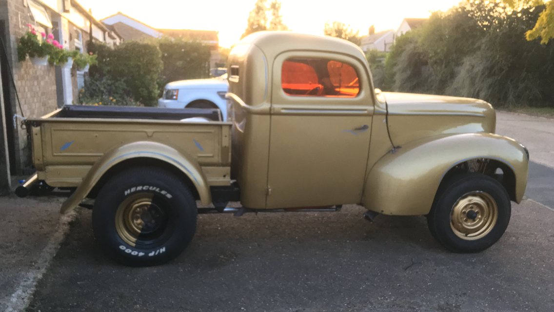 1940 Ford pickup Gasser Hot Rod For Sale (picture 3 of 4)