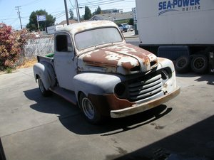1949 F-1 SHORTBED CALIFORNIA PROJECT  $8750 SHIPPING INCLUDED