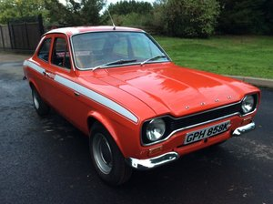 1971 Escort Mexico 'an early battery in the boot car'  For Sale by Auction