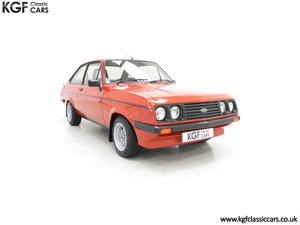 1980 The Terracotta Warrior Ford Escort Mk2 RS2000 Custom For Sale