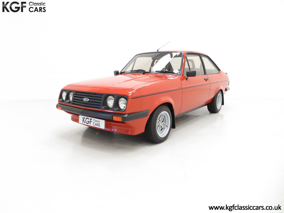 1980 The Terracotta Warrior Ford Escort Mk2 RS2000 Custom SOLD (picture 2 of 6)