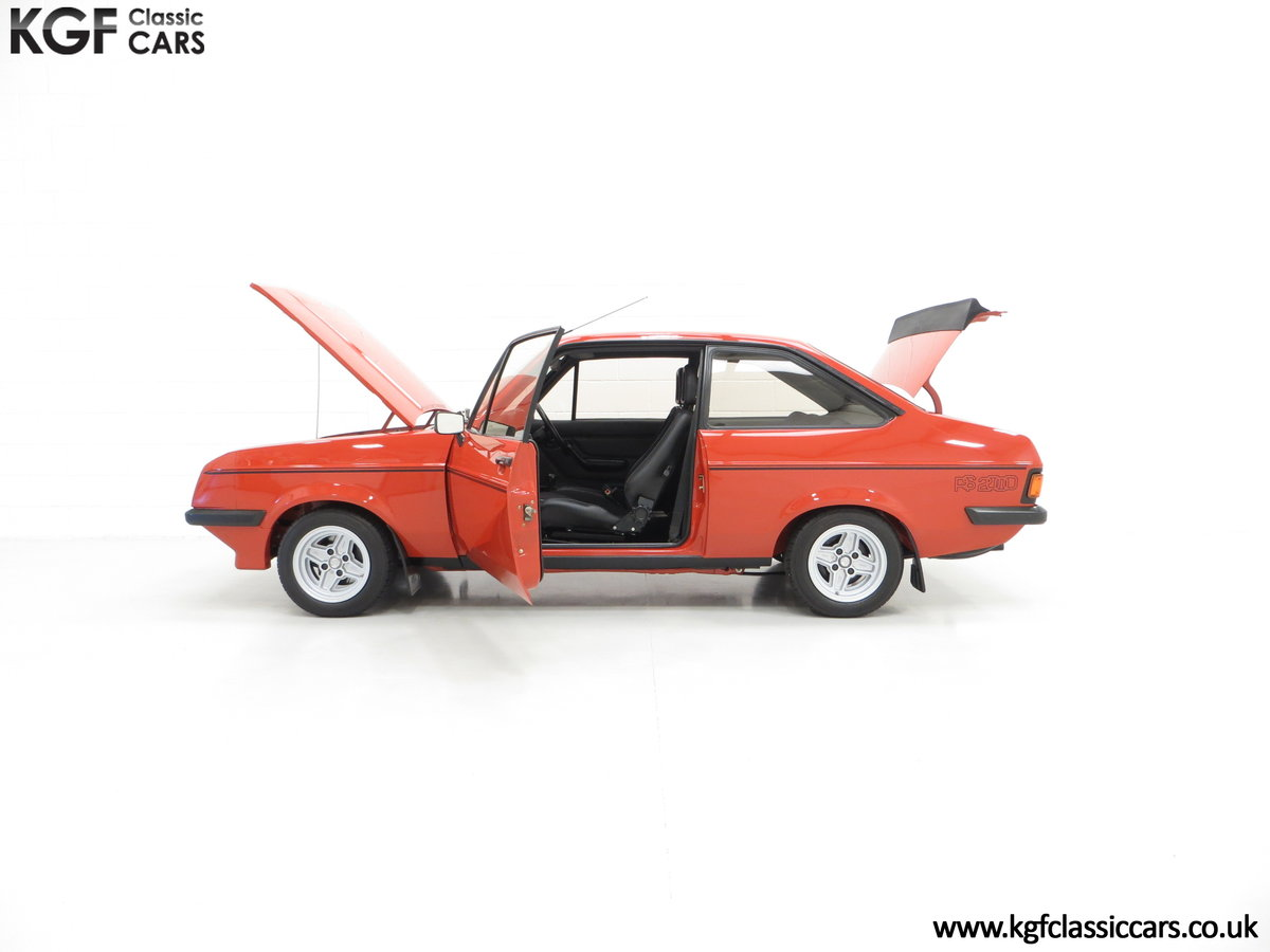 1980 The Terracotta Warrior Ford Escort Mk2 RS2000 Custom SOLD (picture 3 of 6)