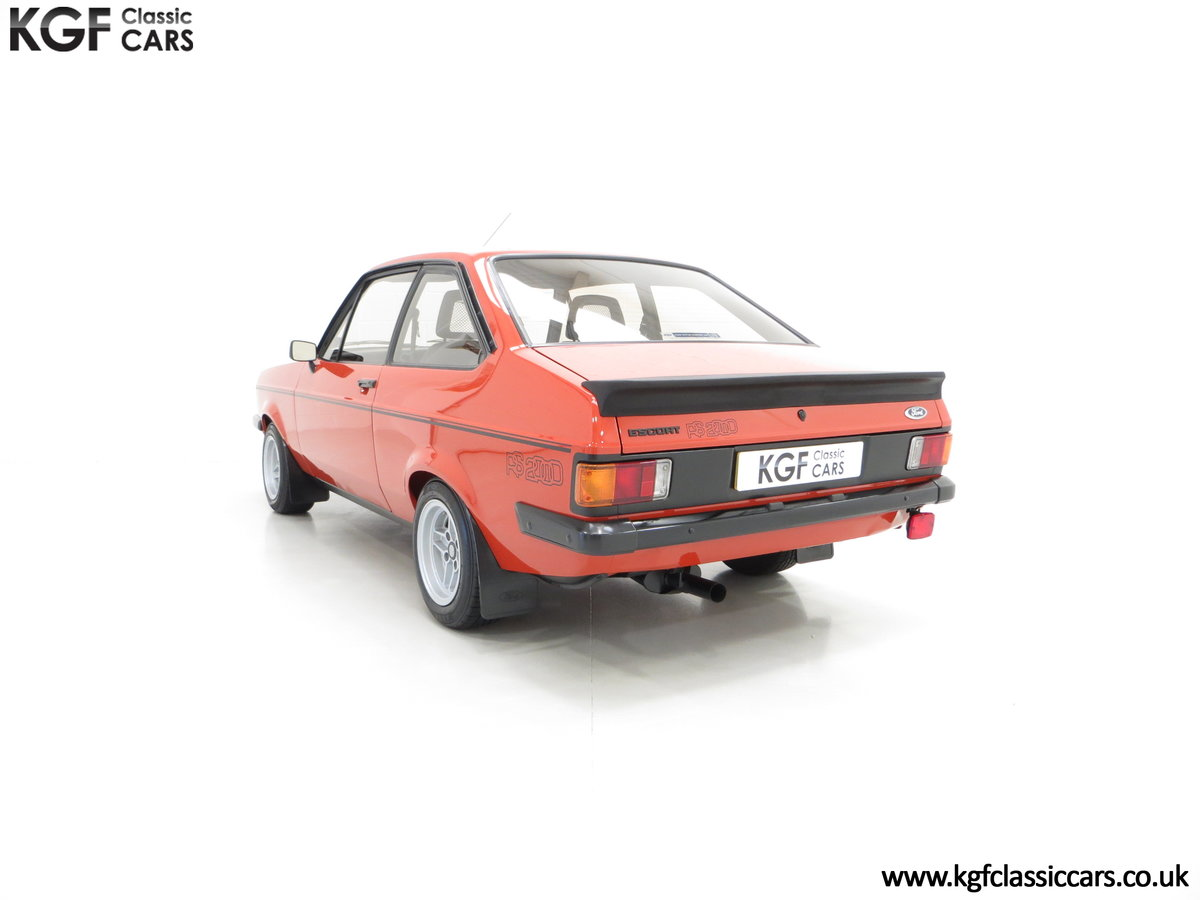 1980 The Terracotta Warrior Ford Escort Mk2 RS2000 Custom SOLD (picture 4 of 6)