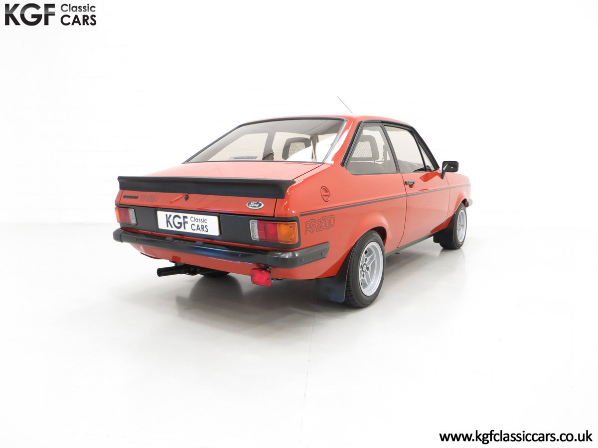 1980 The Terracotta Warrior Ford Escort Mk2 RS2000 Custom SOLD (picture 5 of 6)