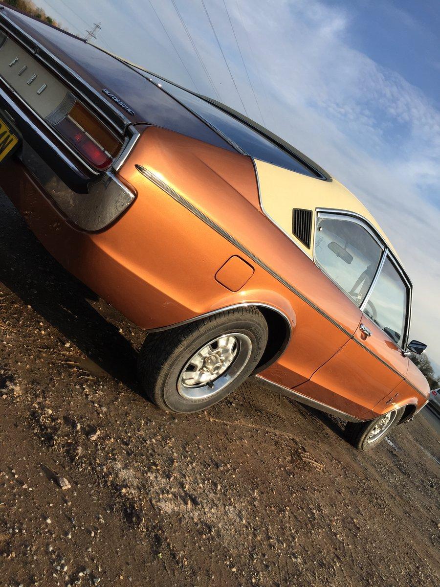 1975 Mk1 ford Granada coupe For Sale (picture 5 of 6)