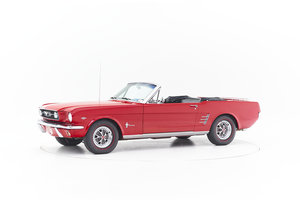 1966 FORD MUSTANG CONVERTIBLE for sale by auction For Sale by Auction