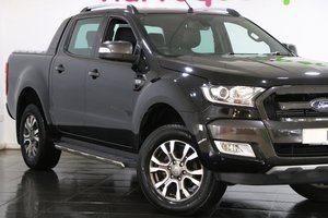 2018 Ford Ranger Pick Up Double Cab Wildtrak 3.2 TDCi 200 Auto For Sale