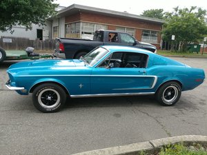 1968 Ford Mustang Fastback V8 and Five speed