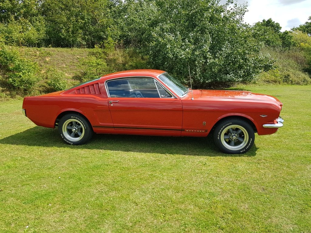 1966 1965 Mustang V8 Automatic with GT Visuals  For Sale (picture 2 of 6)