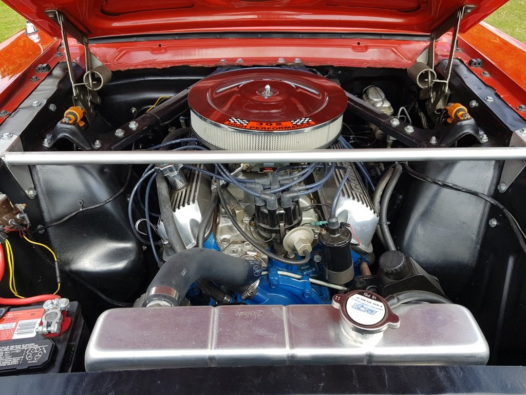 1966 1965 Mustang V8 Automatic with GT Visuals  For Sale (picture 4 of 6)