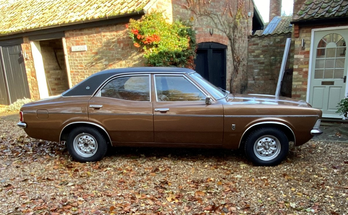 2.0L 1973 Ford Cortina 2000 GXL manual For Sale by Auction (picture 1 of 6)