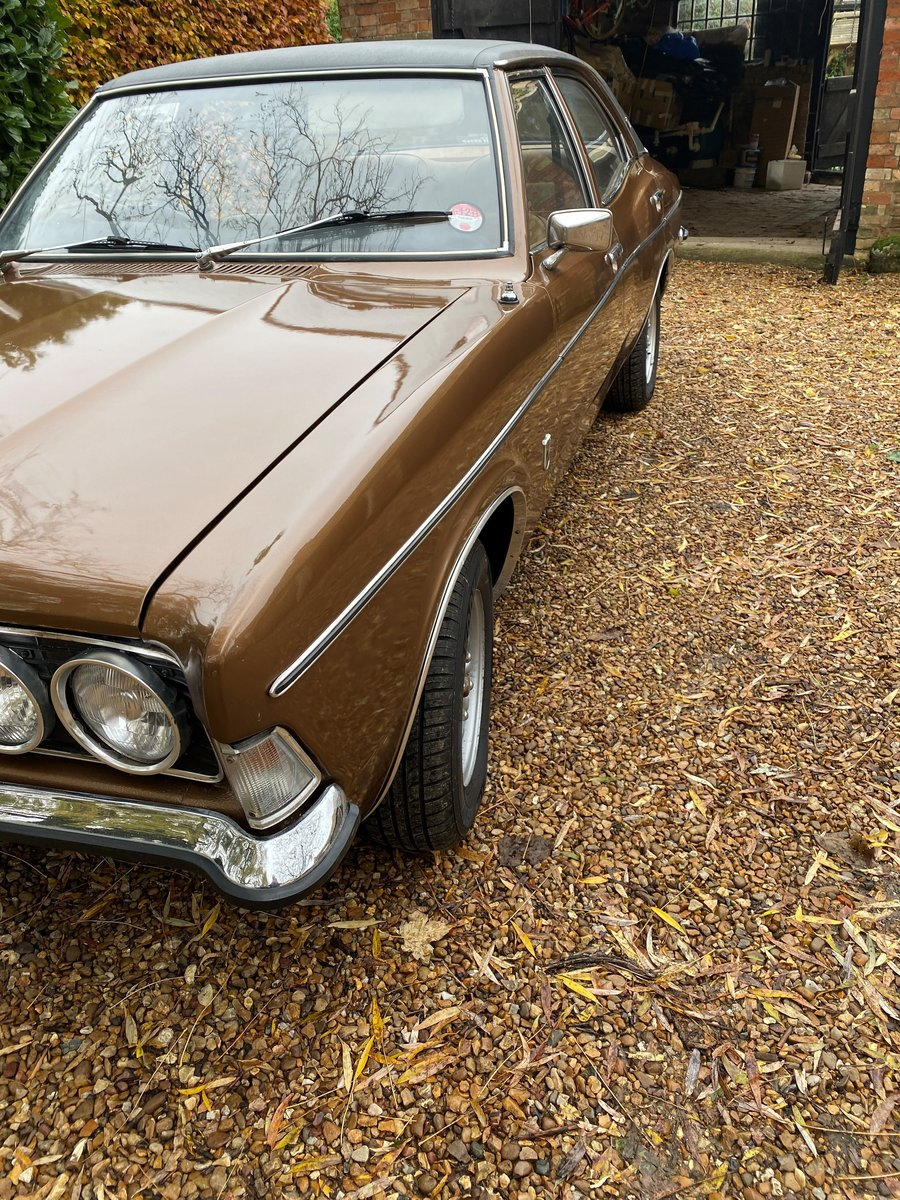2.0L 1973 Ford Cortina 2000 GXL manual For Sale by Auction (picture 2 of 6)
