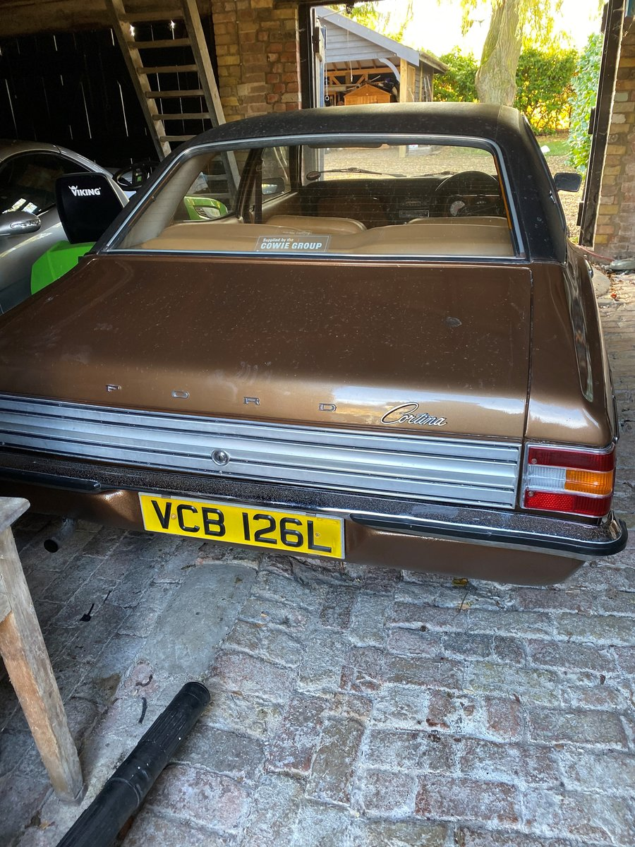 2.0L 1973 Ford Cortina 2000 GXL manual For Sale by Auction (picture 4 of 6)