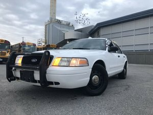 2011 Ford Crown Victoria American Police Car