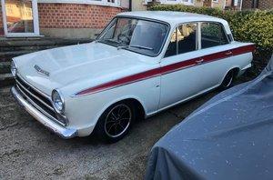 1966 Ford cortina Super Mk1  - period tuned. For Sale