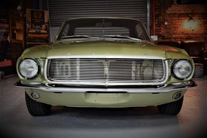 1967 Ford Mustang 302 V8 C4 3-Speed Auto Coupe For Sale