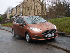 2013 Ford Fiesta 1.6 TDCI Econetic Titanium S/S 5DR For Sale