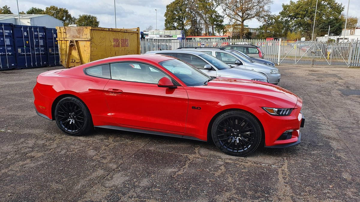 2016 Ford Mustang GT Fastback - Full Years MOT For Sale (picture 1 of 6)
