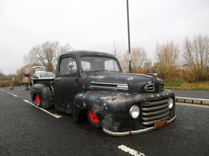 1949 F1,F100, 2.4 Diesel, Right Hand Drive,Rat Rod Air Suspension SOLD