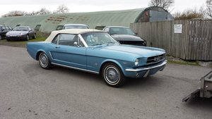 Ford Mustang 289 Convertible 1965 For Sale