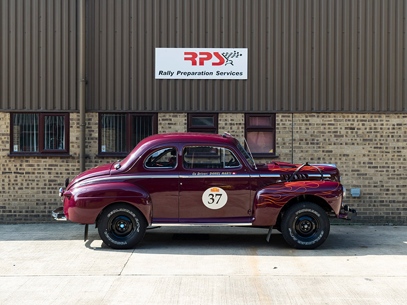 1948 Ford Coupe Long Distance Rally Car For Sale (picture 4 of 6)