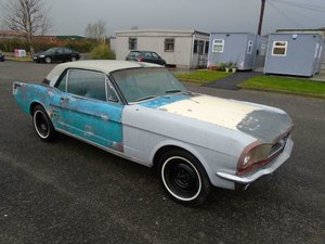 FORD MUSTANG V8 AUTO LHD COUPE (1966) SOLD