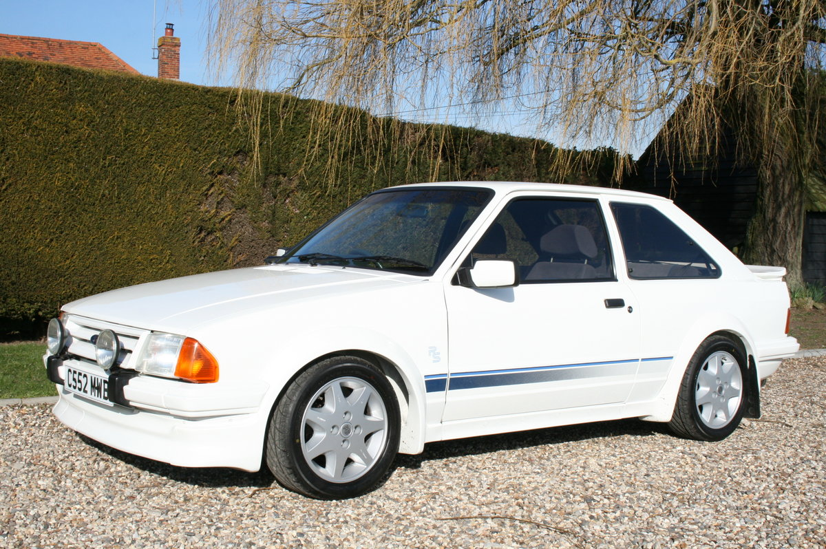 1985 Ford Escort RS Turbo .NOW SOLD. MORE CARS Wanted (picture 1 of 6)