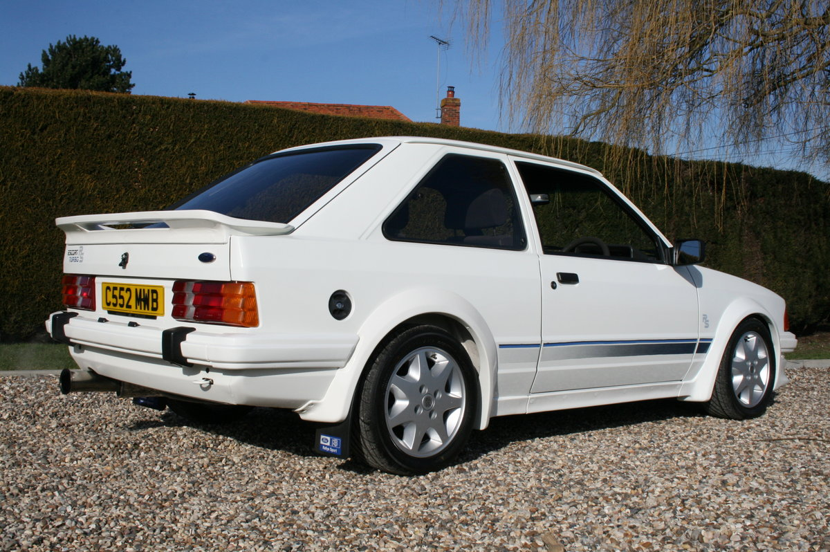 1985 Ford Escort RS Turbo .NOW SOLD. MORE CARS Wanted (picture 5 of 6)