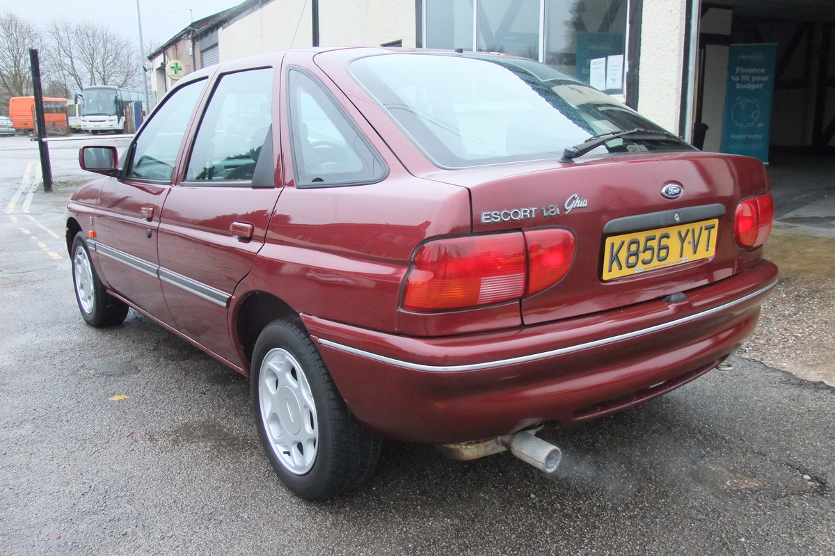 1993 FORD ESCORT 1.8 GHIA  For Sale (picture 3 of 6)