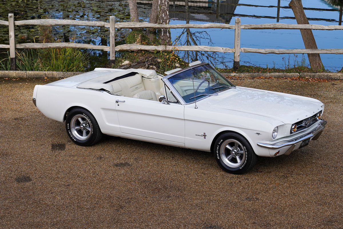 1965 Ford Mustang 289 V8 Convertible Fully restored SOLD (picture 1 of 6)