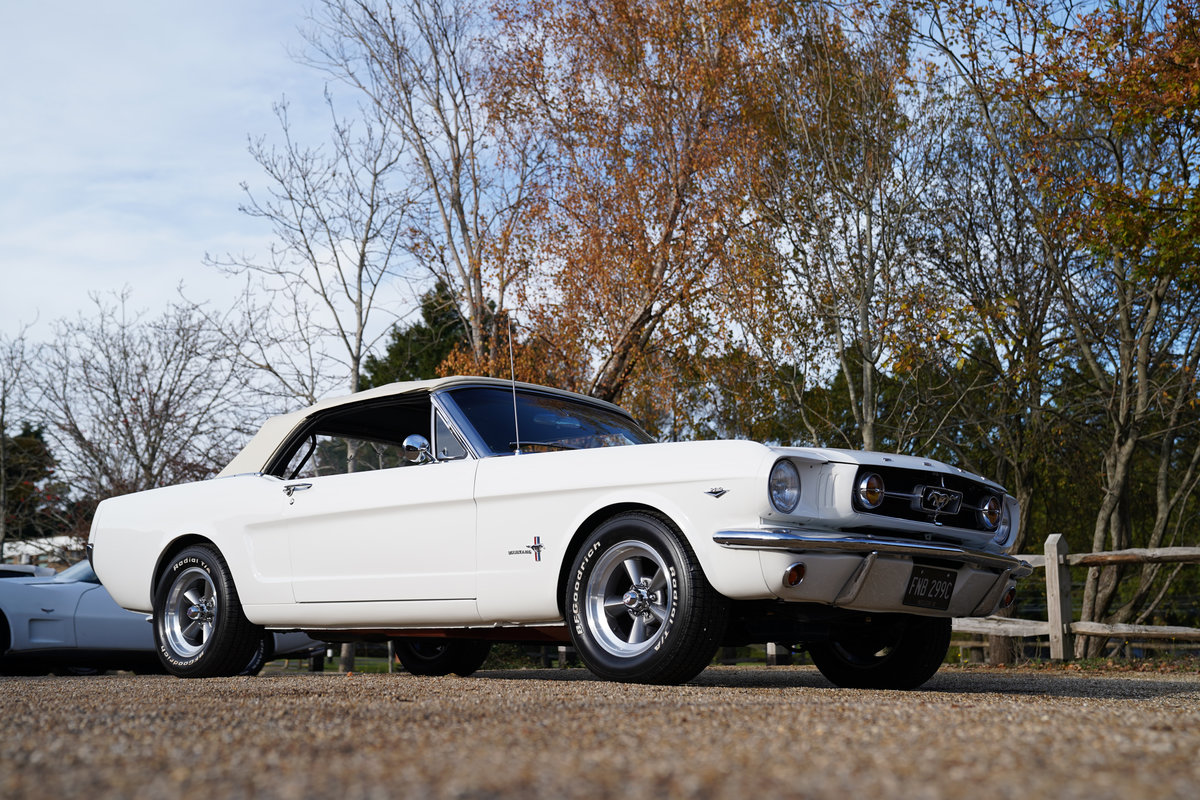 1965 Ford Mustang 289 V8 Convertible Fully restored SOLD (picture 3 of 6)