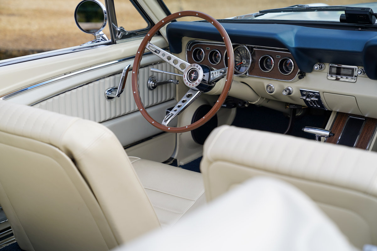 1965 Ford Mustang 289 V8 Convertible Fully restored SOLD (picture 6 of 6)