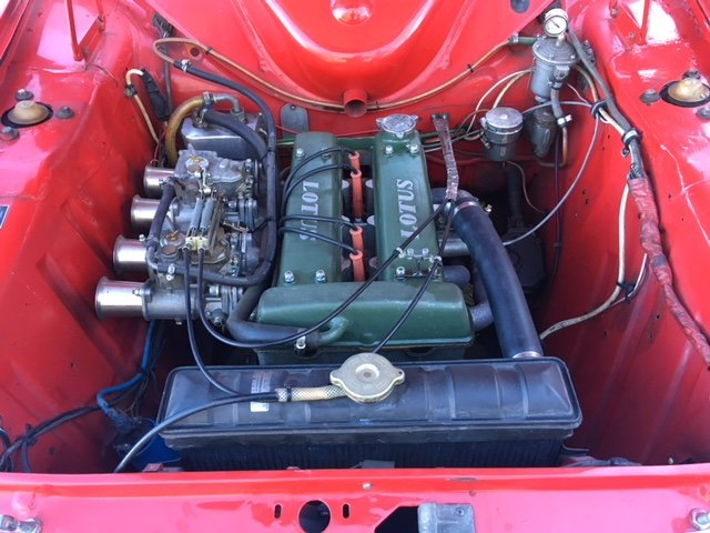 1965 Ford Lotus Cortina MK1 FIA Racecar  For Sale (picture 4 of 6)